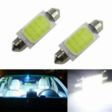 4x 41MM 12 SMD Bright White COB Festoon Dome Map LED Light Lamp Roof Bulb C5W