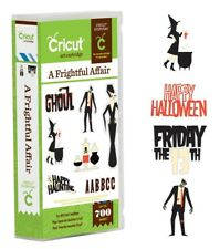 Cricut Cartridge - A Frightful Affair - Halloween Scrapbook Layouts, Party Decor
