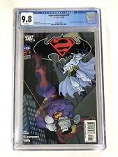 Superman/Batman 22 CGC 9.8 1st Continuity Appearance of Batman Beyond in Cameo!