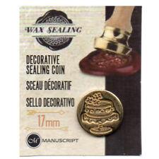 Manuscript Decorative Wax Sealing 17mm Coin Seal - Cake