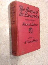 Hound of the Baskervilles A. Conan Doyle 1902 Antique HB