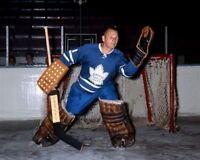 Jonny Bower Toronto Maple Leafs 8x10 Photo