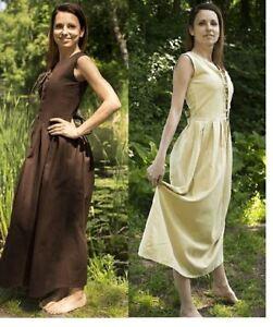 Medieval Peasant Dress Renaissance Larp SCA Costume Ladies