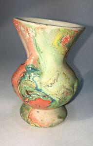 Nemadji Bud Vase - pottery vintage 3 1/4 - 8cm
