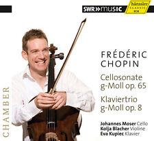Chopin / Moser / Bla - Cello Sonata & Pno Trio [New CD]