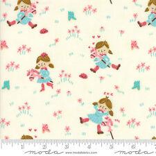 MODA Fabric ~ HOWDY ~ Stacy Iest Hsu (20551 11) Porcelain - by the 1/2 yard
