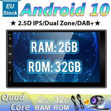 "7"" Doppio Din Autoradio Android 10 GPS NAVI Stereo DAB+OBD WI-FI 2.5D-IPS 1080P"