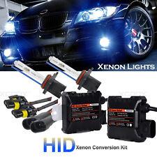 55W 9006 Xenon HID Kit Headlights Conversion 6000K White Globes Bulbs & Ballast