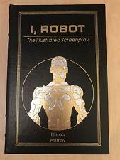 I, Robot Illustrated Screenplay- Signed Limited Edition-Ellison, Easton Press