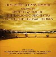 City De Prague Philharmonique - L'Essentiel Hans Zimmer Neuf CD