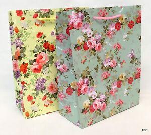 Gift Bag 44203 Roses Paper Bag Gift Bag Birthday 18 x 23 X 8 CM