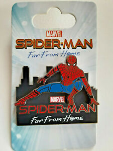 Disney Pin -  Marvel Spiderman Far From Home Cityscape