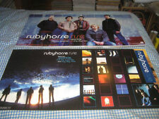 Rubyhorse-(rise)-1 Poster Flat-2 Sided-12X24-Nmint-Rare
