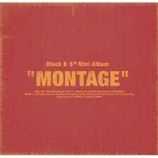 Block B Mini Album Vol. 6 - Montage CD+BOOKLET+PHOTOCARD+Lyric Book KPOP