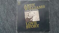Andy Williams - Love story 7'' Single SUNG IN SPANISH