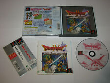Dragon Quest IV Playstation PS1 Japan import + spine card & reg US Seller