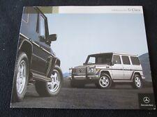 2004 Mercedes Benz G-class Prestige Brochure G550 G55 AMG US Sales Catalog