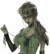 Zombie Lady Grave Long Slightly Curly Hair Wig Halloween Forum Novelties