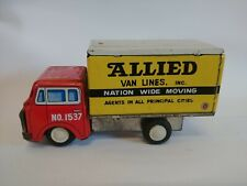 Vintage Tin Allied Van Japan