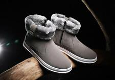 Mens Winter Snow Boots Waterproof Outdoor Boots Velvet High-top Shoes Ths01