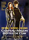 Affiche 120x160cm CHAPEAU MELON ET BOTTES DE CUIR (1998) Uma Thurman NEUVE