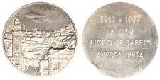 LAMIERINO STAMPATO SHEET METAL LICEO PAOLO SARPI BERGAMO 3^ B 1957/87  #MD1966