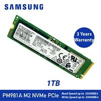 NEW SAMSUNG PM981A 1TB SSD 3D TLC M.2 NVMe PCIe Solid State Drive - Latest Model