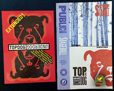 Original Topdog Underdog Stagebill and Postcard
