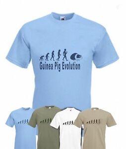 Evolution To Guinea Pig t-shirt Funny Pet T-shirt sizes Sm To 2XXL