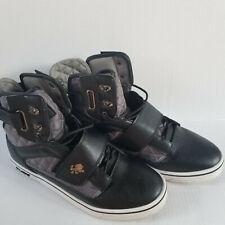 Men's Size 12 VLADO FOOTWEAR Black / Gray ATLAS II High Tops - IG-1500-23