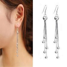 Womens Earrings Jewelry Ball Charm Tassels Chain Drop Dangle Eardrop Party Gift