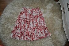 CASUAL CORNER pleated floral skirt Size UK 10