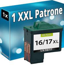 DRUCKER PATRONE REFILL für LEXMARK Nr. 16/17 SCHWARZ TINTE PATRONEN 10NX217E