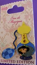Disney JASMINE Princess Eau de Magique AUGUST JEWELED PERFUME BOTTLE  LE Pin