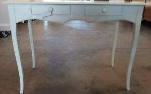 Desk Secretary Desk 11531 IN Solid Wood White Lacquered cm100x56x80H