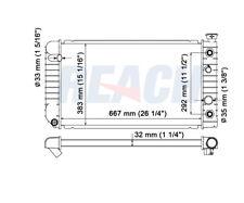Radiator Reach Cooling 41-681