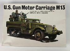 Bandai Us Army Halftrack M13 1/48 Complete Kit #104