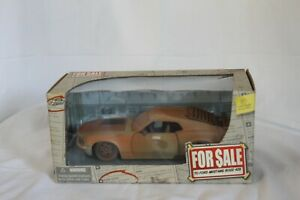"""1970 Mustang Boss 429 Faux Rust """"For Sale"""" collection by Jada Toys 1:24 Scale"""