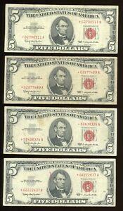 DBR $5 group of 20 legal 1963 STARs , grades range G-VF $100 Face Group C