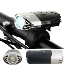 Luce LED torcia faro fanale bici bicicletta outdoor impermeabile ricarica USB