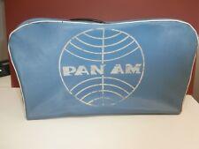 Pan Am 1960's-70's bag original vintage rare Taller Industrial BALT-BALT