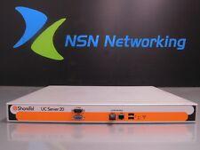 ShoreTel UC SERVER 20 Unified Communications Platform 101-08015G2-A 600-1132-02