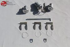 Chevy Camaro Pontiac Firebird Door Trunk Lock Cylinder Set Oval Round Head Keys