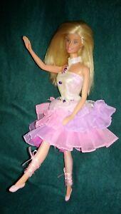 Vintage Barbie Mattel 1998 Puppe Ballett Ballerina + Kleidung P229 Doll dress
