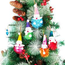 1pc Christmas Snowman Bubble Ornaments Festival Xmas Tree Hanging Decoration