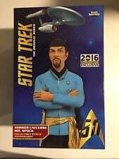 "Star Trek~ 2016 SDCC~""Mirror Universe Mr Spock""~Statue~Icon Heroes~875/1000~New!"