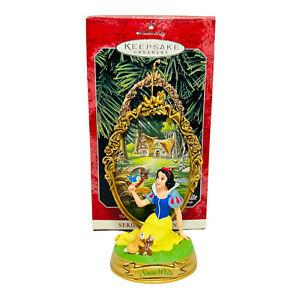 Hallmark Keepsake Ornament Walt Disney Snow White Vintage 1998 NEW
