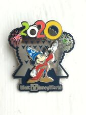 DISNEY WDW 2020 EPCOT SPACESHIP EARTH MICKEY MOUSE SORCERER PIN ON PIN