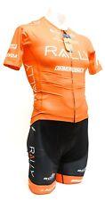 Borah Rally Pro Cycling Short Sleeve Cycling Kit XL Black Orange Road Bike Team