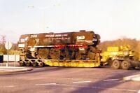 PHOTO  1980 MERCHANT NAVY CLASS LOCO NO.35018 'BRITISH INDIA LINE'  ROUNDABOUT T